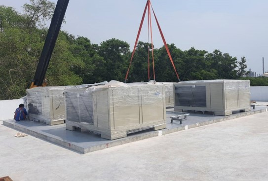 Design & Install Air Condition and Ventilation Systems For Gis Substation Room