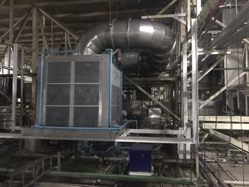 Cooling Pad Installation